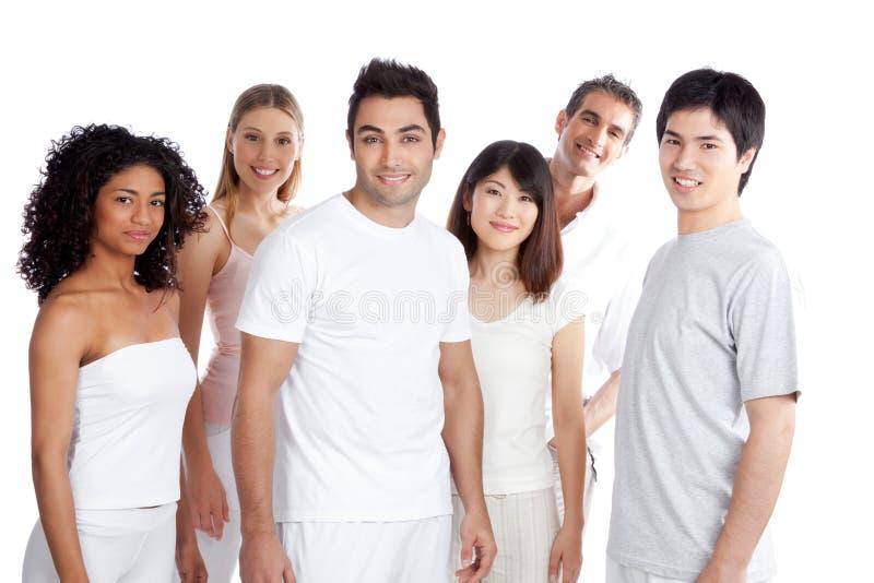 Groupe de personnes multi-ethnique photographie stock libre de droits