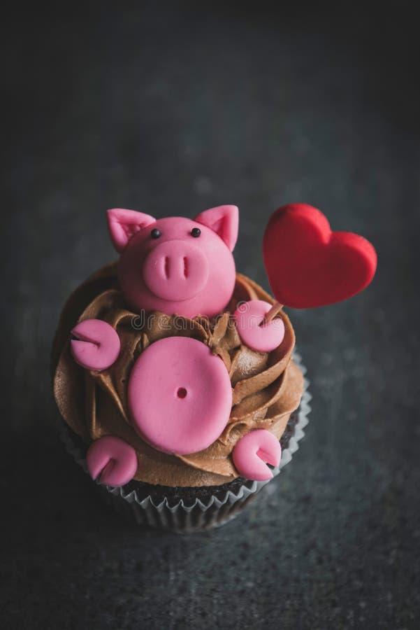 Groupe de petits gâteaux doux images stock