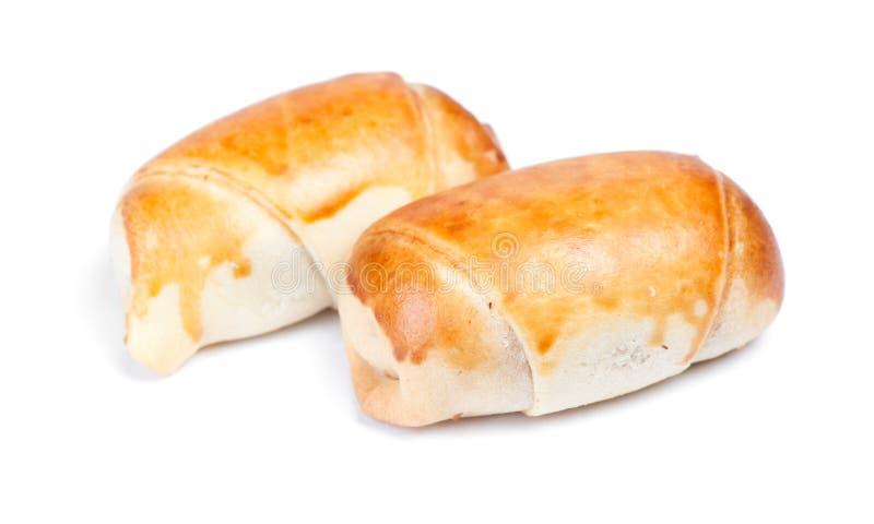 Groupe de petits pains cuits au four photos stock