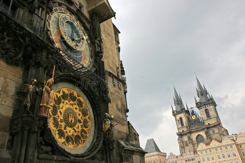 Groupe de Prague photo stock