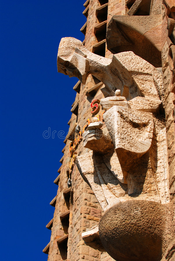 Groupe de Sagrada Familia photos libres de droits