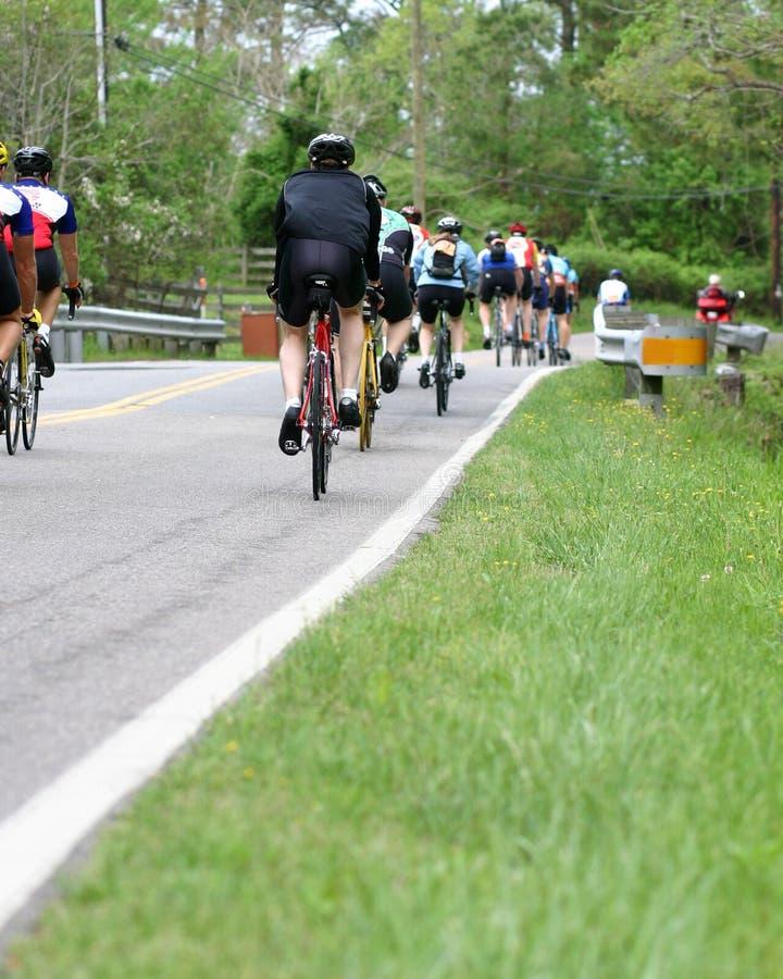 Groupe de vélo photo libre de droits