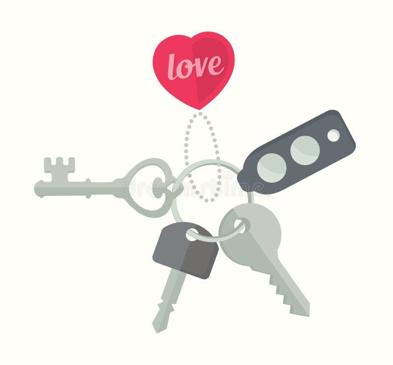 Download Groupe de vecteur de clés illustration de vecteur. Illustration du illustration - 56486436