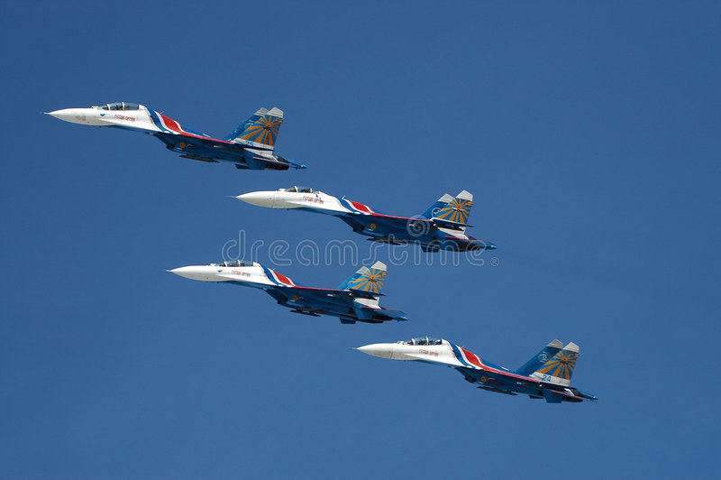Groupe de vol photo libre de droits