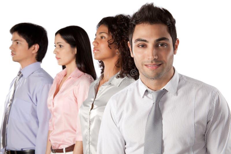 Groupe multi-ethnique d'hommes d'affaires photos stock