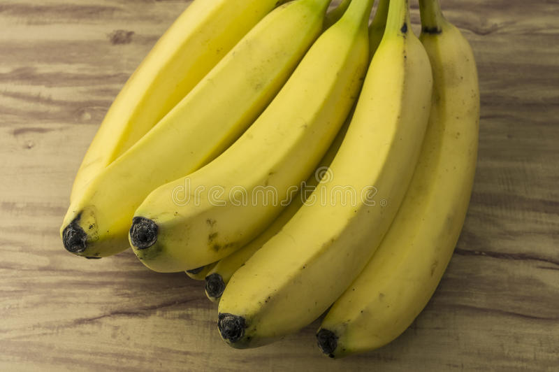 Groupe naturel frais de banane images stock