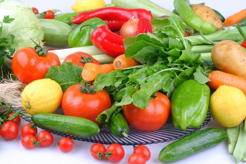 Groupe organique de fruits et l?gumes diff?rents photo stock