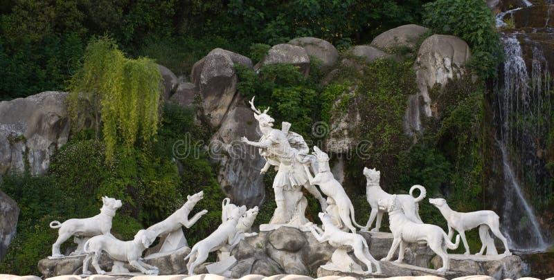 Groupe sculptural en Italie photographie stock