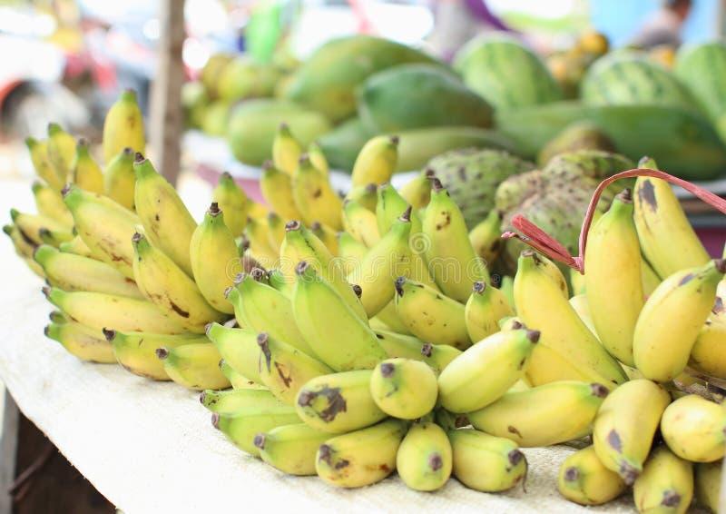 Groupes de bananes locales de viol photos libres de droits