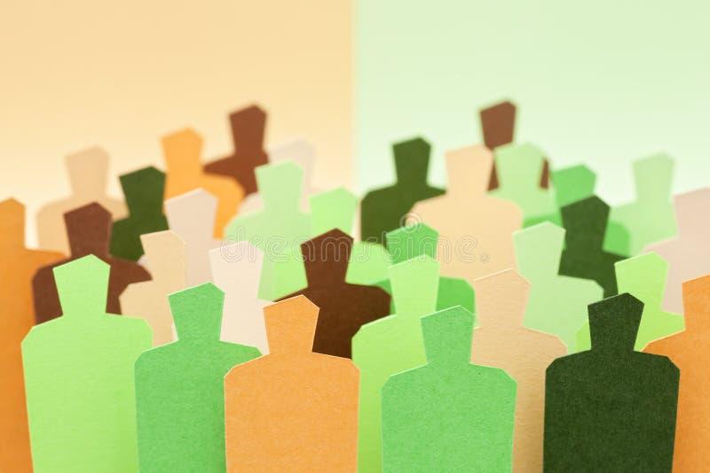Groupes mixtes images libres de droits