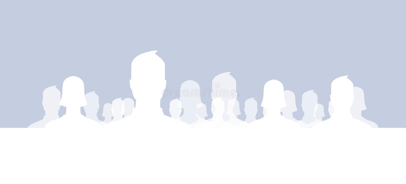 Groupes sociaux de réseau illustration de vecteur