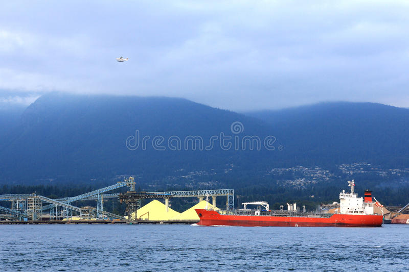 Grouse mountain royalty free stock images