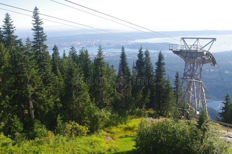 Grouse Mountain Stock Images