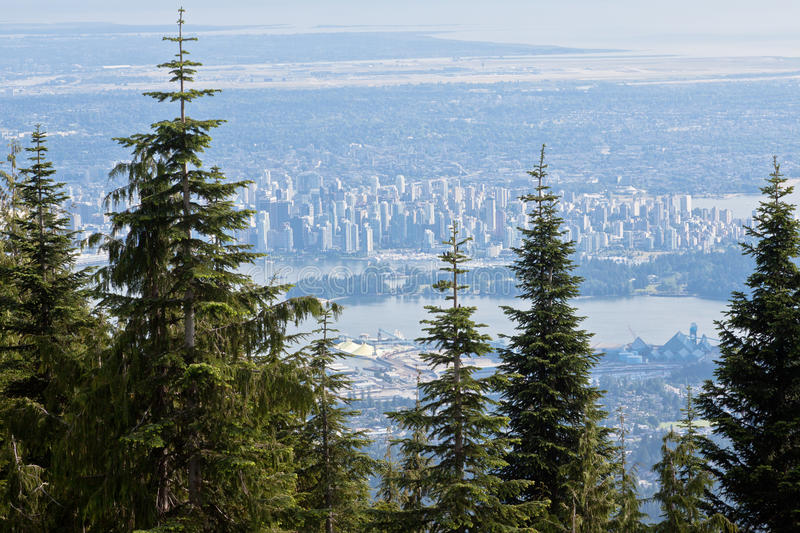 Download Grouse Mountain Vancouver stock photo. Image of coast - 21402376