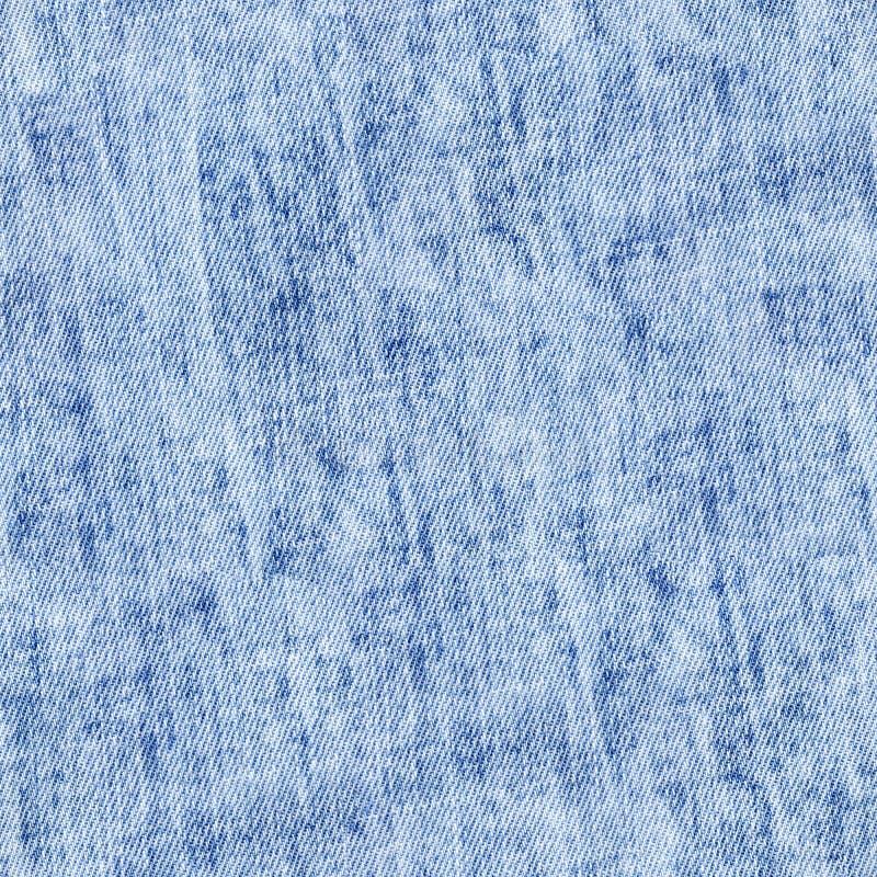 Grov bomullstvillblått och vit, sömlös textur för kokt jeans royaltyfri foto