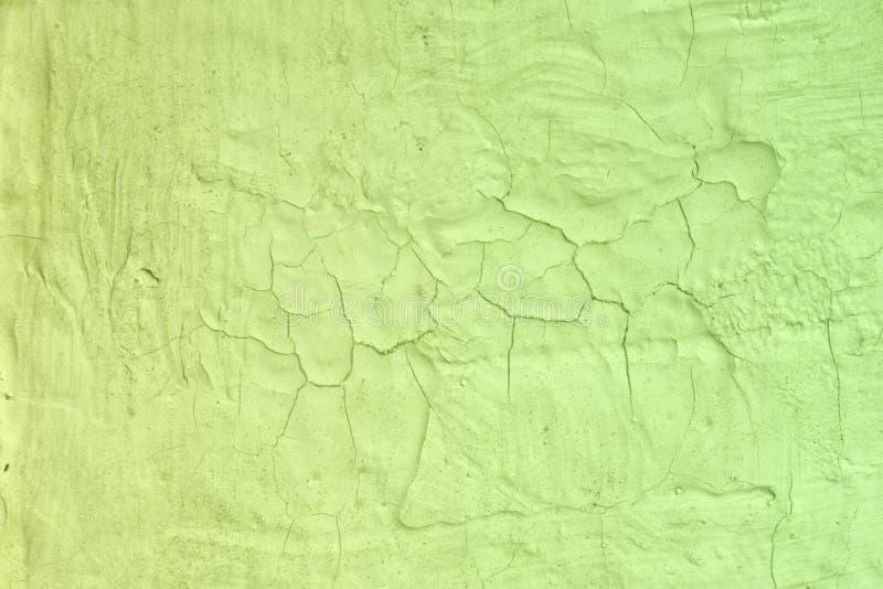 Grov bruten stuckaturtextur för gul grunge - trevlig abstrakt fotobakgrund royaltyfri fotografi