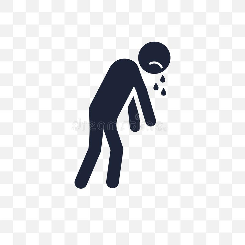 grov mänsklig genomskinlig symbol grov mänsklig symboldesign från avgift stock illustrationer