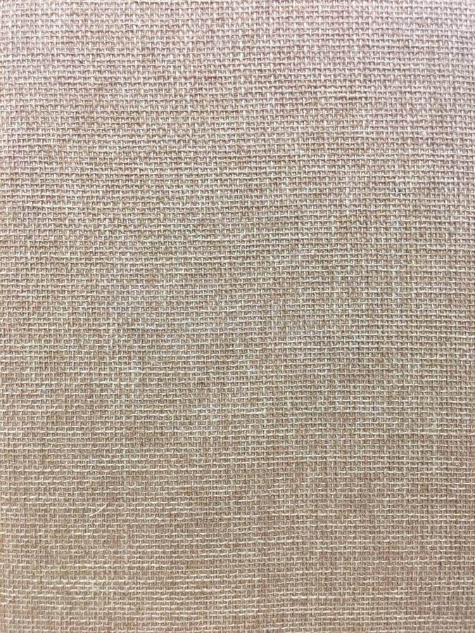 Grov textur för hessianslinne- eller bomullstyg royaltyfri bild