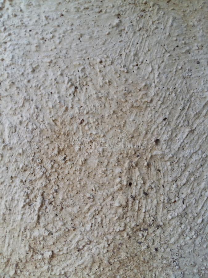 Grov vit väggtextur arkivbild