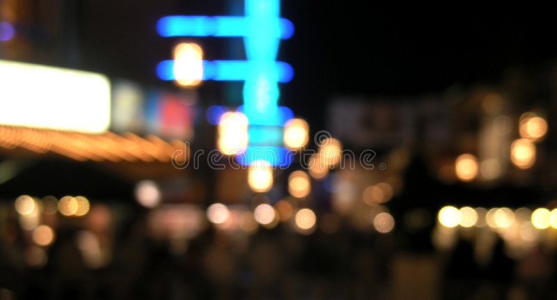 Grove at night royalty free stock photography