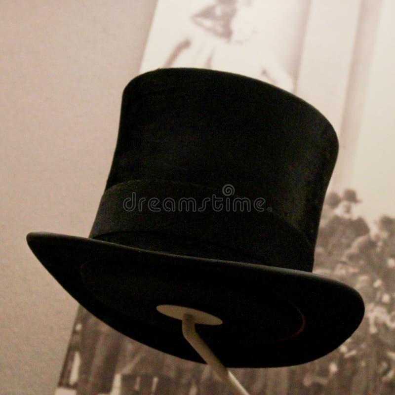 Grover Cleveland Inauguracyjny kapelusz. zdjęcia stock