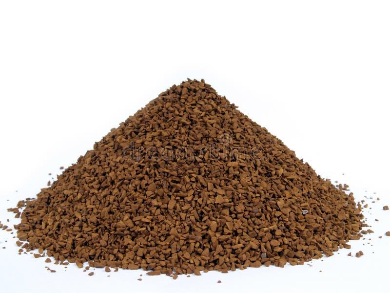 grovkornigt kaffe arkivfoto