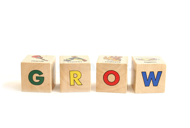 Download GROW stock photo. Image of education, preschool, square - 962176