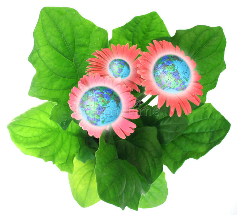 Download Grow the world stock image. Image of flowering, energy - 1310259