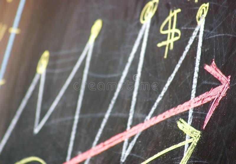 Download Growing business success stock image. Image of blackboard - 16515