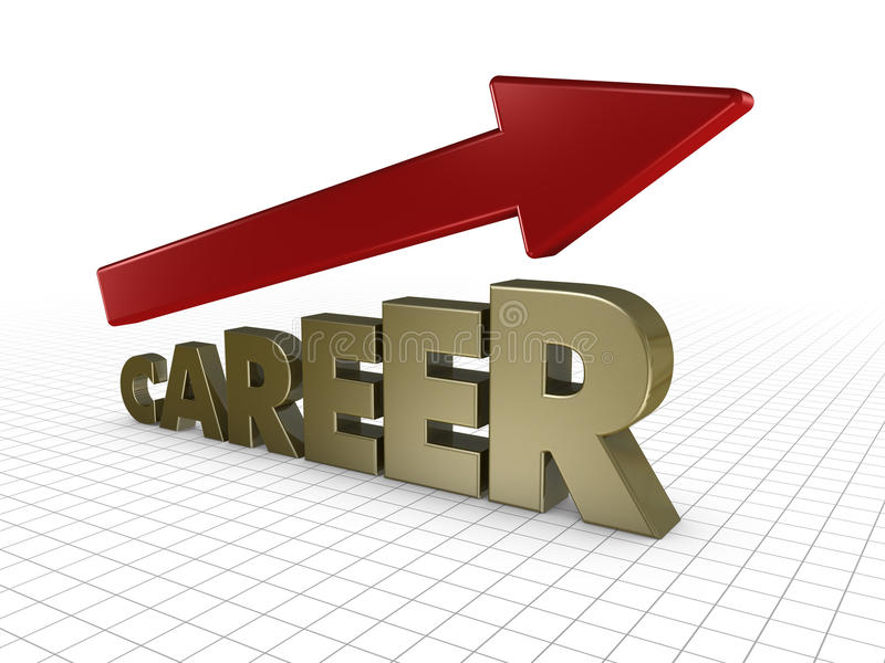 Growing Career Royalty Free Stock Images