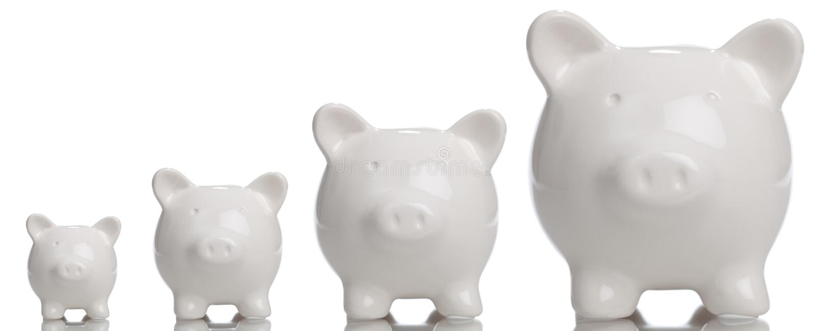 Download Growing Piggy Bank stock photo. Image of finance, investing - 15358050