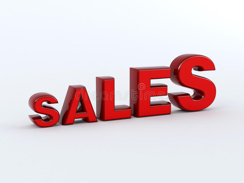 Growing Sales Concept Stock Image