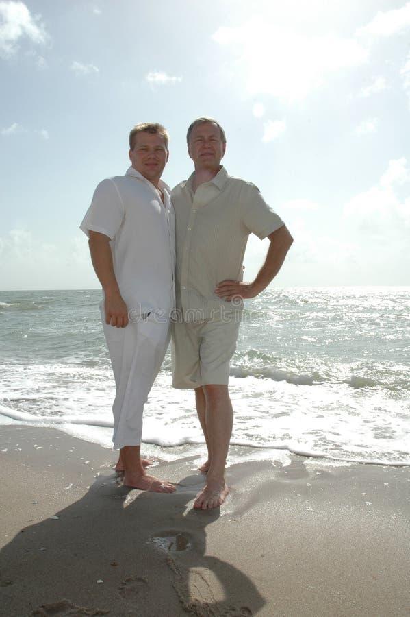 Grown Men royalty free stock photo