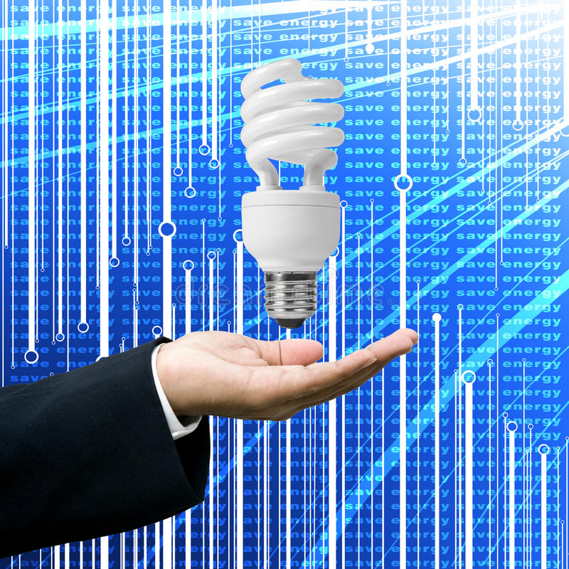 Download Grown Up Of Lighting Business Concept Stock Illustration - Image: 22745650