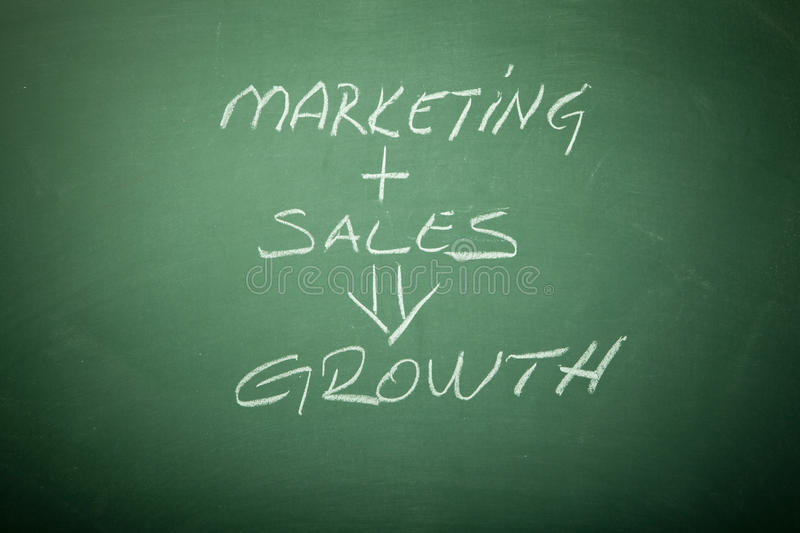 Download Growth stock image. Image of chalk, sales, concepts, occupation - 15718647