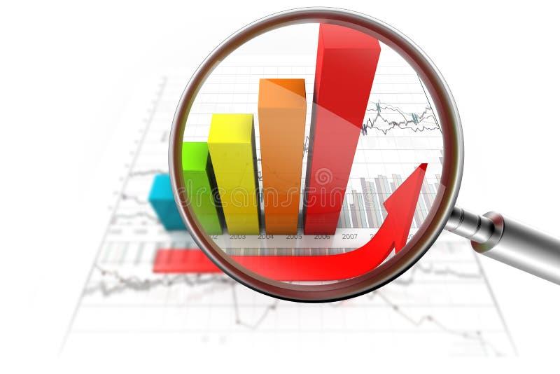 Download Growth achievement stock illustration. Image of histogram - 17986056
