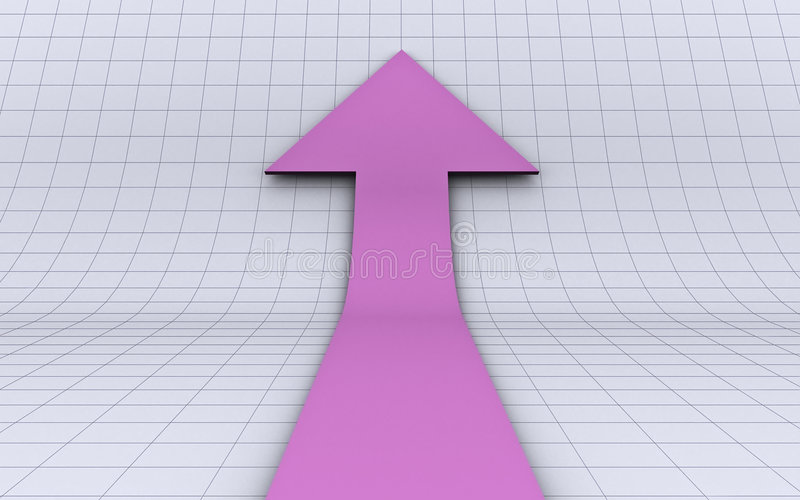 A Growth Arrow Stock Images