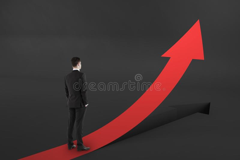 Growth and development concept royalty free stock photos