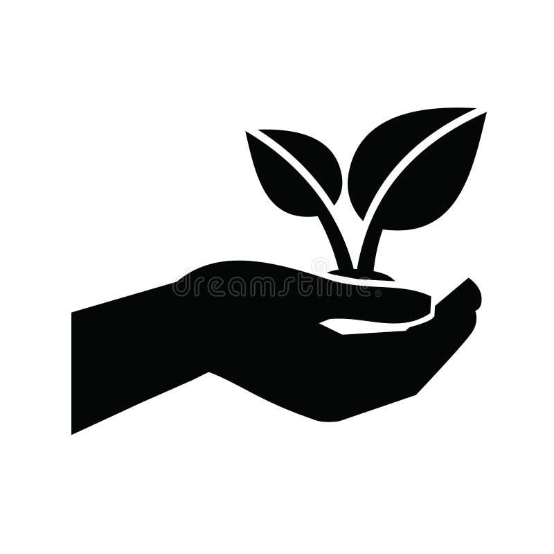 Growth icon stock illustration