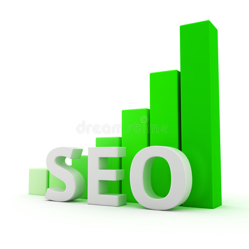 Download Growth of SEO stock illustration. Image of height, page - 32111316