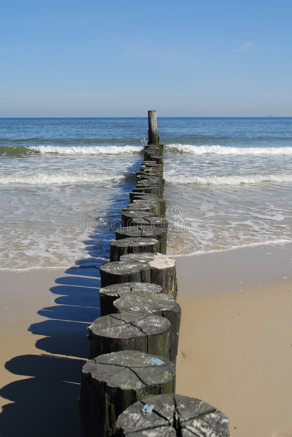 Download Groynes stock image. Image of coast, ocean, wood, salt - 7629765