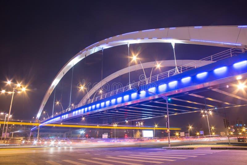 Grozavesti Bridge, Bucharest royalty free stock photos
