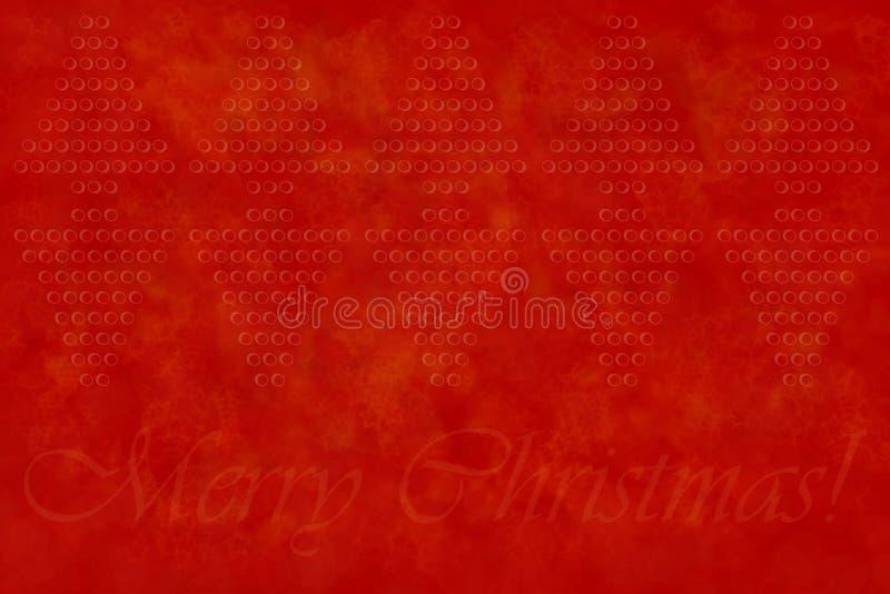 Grußhintergrund der frohen Weihnachten lizenzfreie abbildung