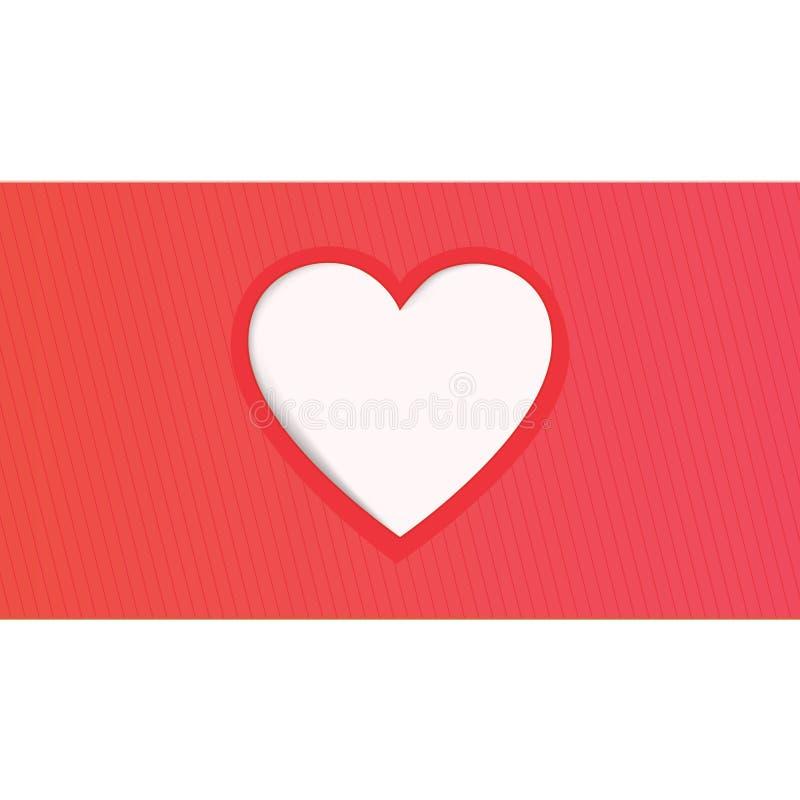 Grußkarte des Valentinsgrußtages stockfotos