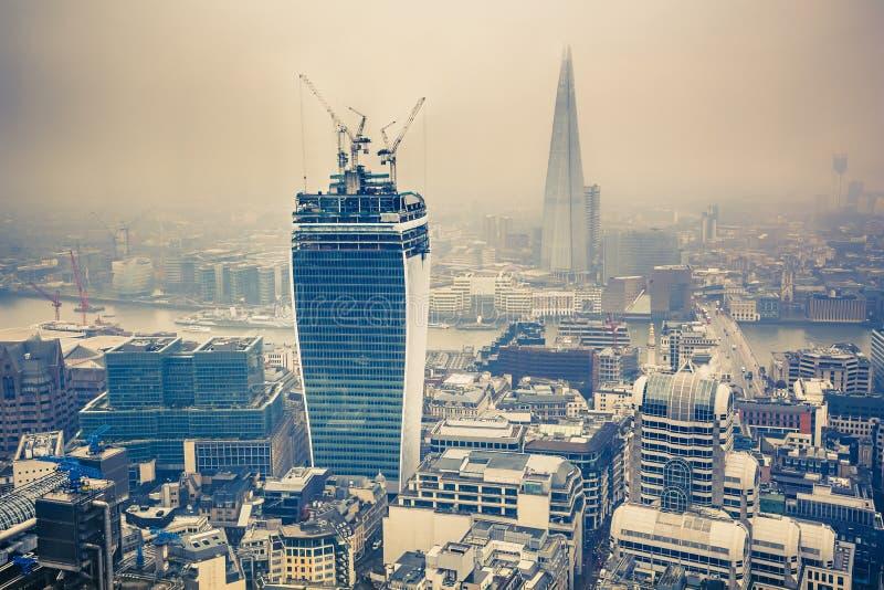 Grußkarte von London stockfoto