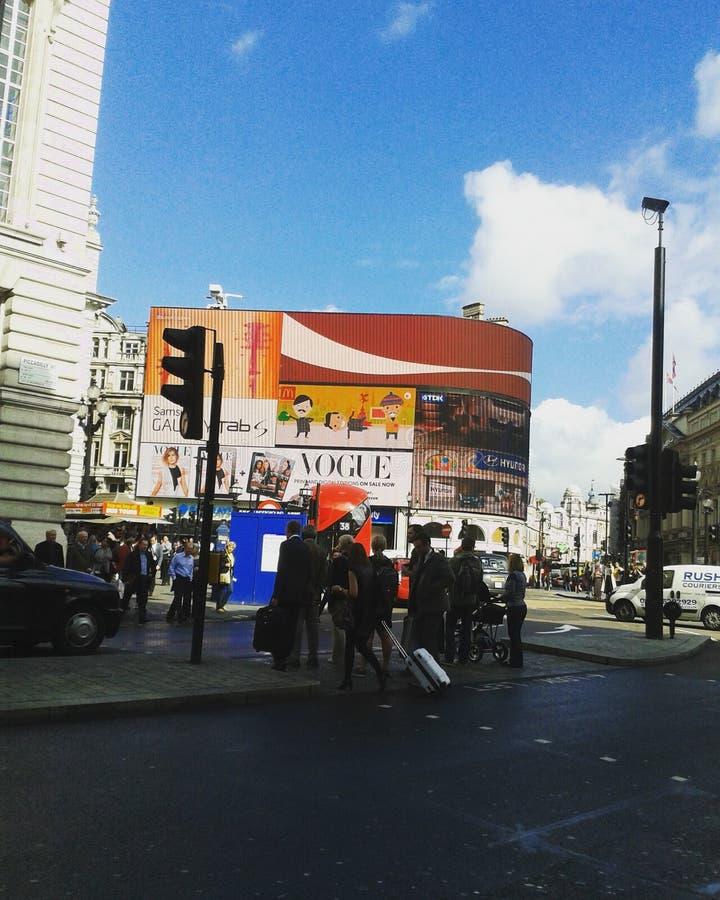 Grußkarte von London lizenzfreie stockfotografie