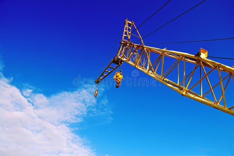 Download Gru fotografia stock. Immagine di macchina, elevatore - 7311046