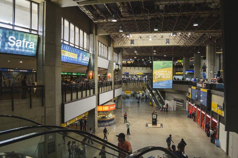 GRU-Flughafen, Anschluss 2, Guarulhos lizenzfreie stockfotos