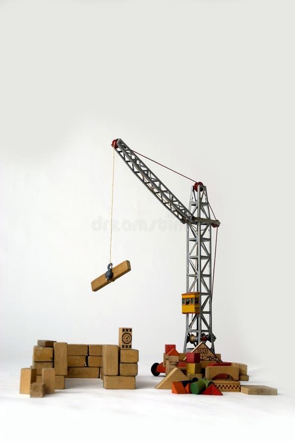 Gru per costruire le case fotografie stock immagine 2186523 for Programma per costruire case