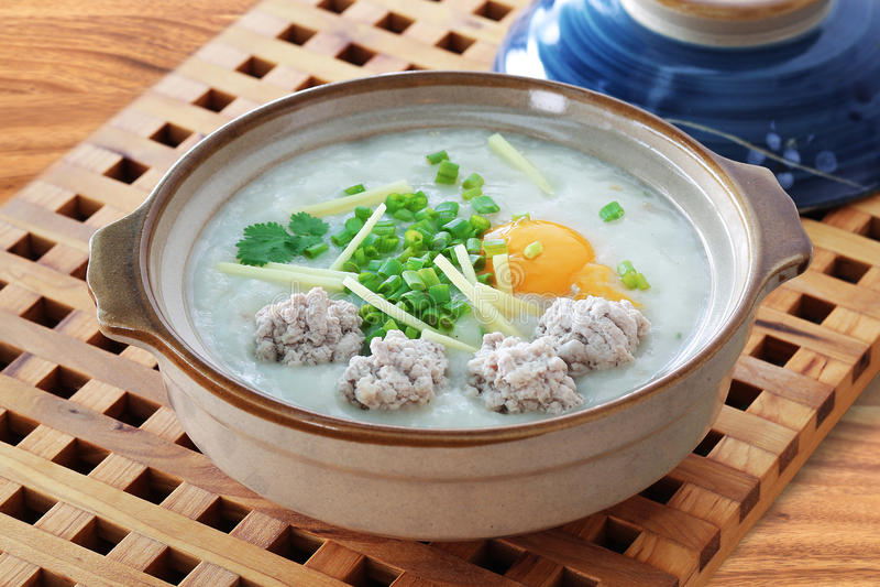 Gruau, congee image stock